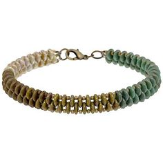 Verdigris Bracelet | Fusion Beads Inspiration Gallery