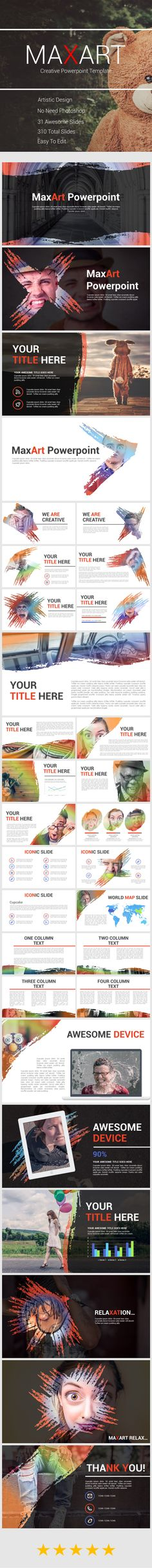 MaxArt - Creative Powerpoint Template. Download here: http://graphicriver.net/item/maxart-creative-powerpoint-template/16187066?ref=ksioks