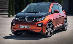 """EPA Says Electric Vehicles Are Finally Making a Change - BMW's i-3 EV coupe (with rear doors half the size of a four door sedans rear doors, only open once the front doors are open and open """"suicide door"""" style (that is, the hinge is in the rear so the rear doors open towards the front of the car affording excellent access to rear seats)!!"""