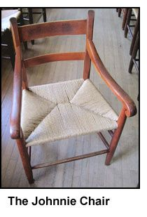 The Johnnie Chair. Perhaps The Finest Chair Ever Made. Thank You E.A. Clore!