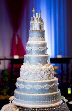 Cinderella Castle Cake.