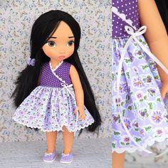 Disney animator doll clothes. Doll dress for 16 inch dolls.