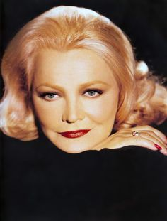 Picture of Gena Rowlands Hooray For Hollywood, Hollywood Stars, Classic Hollywood, Gena Rowlands, Phylicia Rashad, Best Actress Award, Dramatic Classic, Lisa Marie Presley, Guys And Dolls