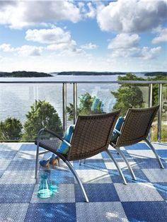 Tøft gulv fra Bergo/Storeys. Bare å nyte utsikten her!