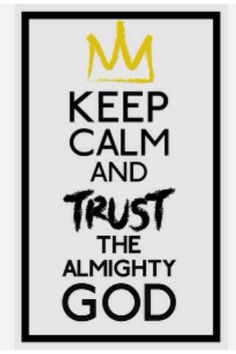 Trusting in the Almighty God<3