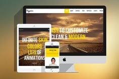 Hypnos - MultiPurpose HTML Template by WowThemes.net on @creativemarket