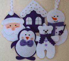 Atelier Gigi Arteira: Enfeites de Natal!!!!