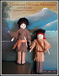 we make our own clothespin people for our homeschool lessons ~jv