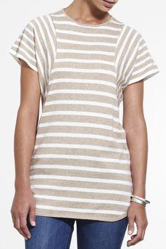 Sun-sational tee SS2015 NINETEEN//46 NZ$189 #knitwear #fullyfashioned #summerknitwear  #cotton #summer
