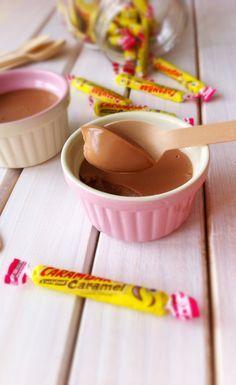 Crème carambar au caramel, miaaaaam !