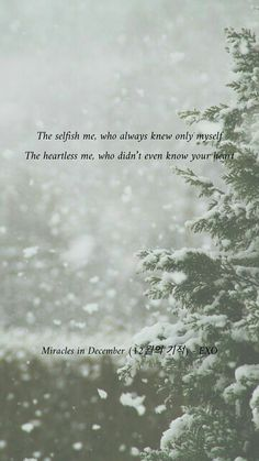 Miracles in December (12월의 기적)-EXO Music Quotes Life, School Life Quotes, K Quotes, Song Lyric Quotes, December Quotes, Phone Wallpaper Quotes, Quote Backgrounds, Exo Songs, Frases