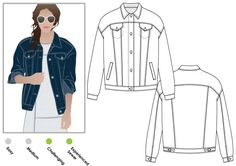 Purchase StyleArc Stevie Jean Jacket and read its pattern reviews. Find other sewing patterns.