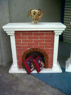 Chimenea unicel decoracion hogar pinterest - Chimeneas gonzalez ...