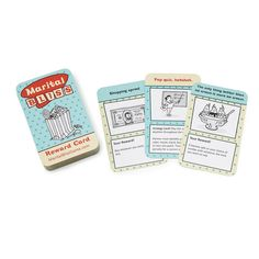 Challenge your spouse to be the best you both can be with this charming card game that rewards sweet behavior.