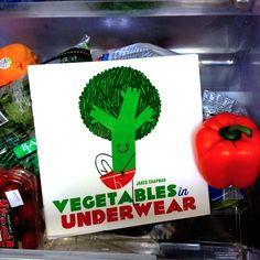 Vegetables in Underwear – Let radishes and eggplants train your toddlersVegetables in Underwearby Jared Chapman.