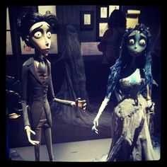 Expo #timburton #cinematheque - @cel_lyne- #webstagram