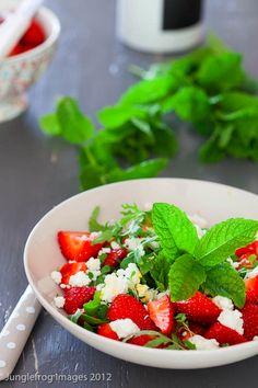 Strawberry Feta Salad