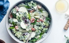 Want to add a bit of variety to your salads – try this recipe out. This recipe combines crunchy broccoli, crisp cucumbers, and cherry tomatoes and tosses everything in a creamy cashew dressing that is super healthy. Lunch just got a little more interesting.