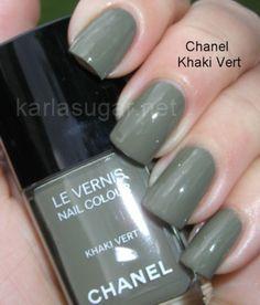 Chanel-Khaki-Vert, Swatches, Photos, Reviews