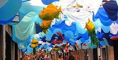 Festa Major de Gracia Barcelona, Art Installation, Recycled Art, Festival Party, Zero Waste, Our Love, Jars, Celebration, Recycling