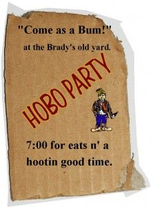 1000 Images About Hobo Party Ideas On Pinterest Western Parties Camping Parties And Bandanas