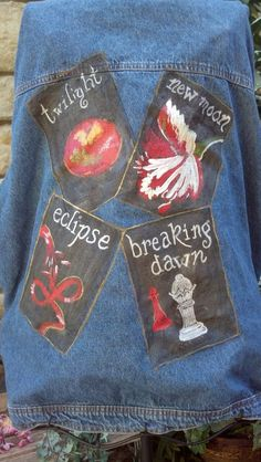 Demin jacket inspired by the Twilight book by LooksFromBooks, $80.00