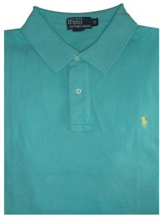 Ralph Lauren Yellow Pony Short Sleeved Polo