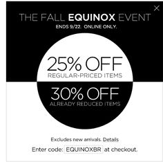 The Fall Equinox Event