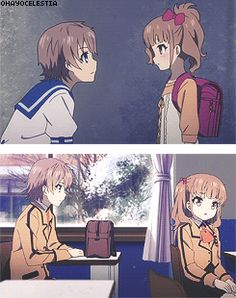 Sayu and Kaname - Nagi no Asukara