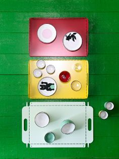 The IKEA TRENDIG 2013 limited collection is a fusion of Chinese culture and Scandinavian design. From the simple lines to the natural materials, this very limited collection brings out the best design elements of both countries. Click to see these trays and the entire collection here.