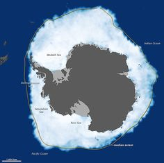September 26, 2012, when ice covered more of the Southern Ocean than at any other time in the satellite record.