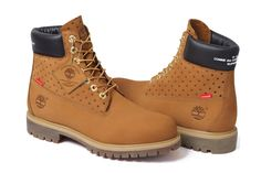Supreme & COMME des GARCONS SHIRT Rework Timberland's 6-Inch Boot