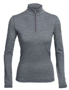 The Women's Oasis Long Sleeve Half Zip is one of the most versatile baselayers in our collection. Made from our super-soft, breathable 200gm merino jersey fabric, Oasis keeps you warm in cool weather, breathes well in warm conditions, and only becomes softer with age. And the details are designed for movement, so it is an ideal baselayer under a top or shell, and great for wearing alone on a cool morning run or a hike in the mountains. Flatlock seams won't chaffe, a drop hem for more ...