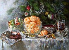 CHRISTMAS GOODIES {Especially the tangerines!}