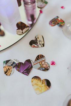 A DIY Super Hero Themed Wedding | Wedding Inspiration | Real Weddings | Bride and Groom | www.weddingsite.co.uk