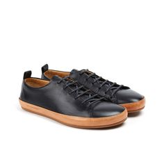 Bannister Leather Sneaker // Black (Euro: 40 / US: 7-7.5)
