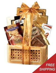 Gourmet healthy gift basket you can get gluten free diabetic gourmet chocolate holiday gift basket a gourmet gift basket idea negle Choice Image
