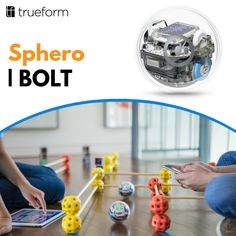 Sphero BOLT is an app-enabled robotic ball that provides endless opportunities to have fun while learning. Program with the Sphero Edu app, discover community-created activities or just drive and play. Simple Rules, Open Source, Design Thinking, Plane, Innovation, Have Fun, Smartphone, Toy, Community