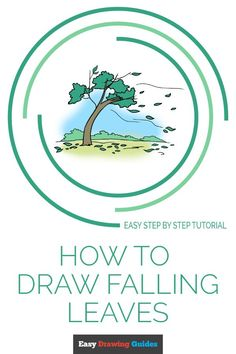 How to Draw Falling Leaves - Really Easy Drawing Tutorial Learn to draw an autumn scenery with falling leaves. This step-by-step tutorial makes it easy. Kids and beginners alike can now draw a great looking falling leaves. Thanksgiving Drawings, Thanksgiving Arts And Crafts, Fall Arts And Crafts, Spider Drawing, Leaf Drawing, Nature Drawing, Drawing Tutorials For Kids, Drawing Ideas, Autumn Art Ideas For Kids