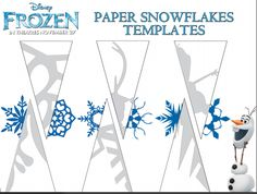 """Frozen"" snowflake template - possible craft. Photo of Frozen paper snowflakes templates for fans of Frozen. Paper Snowflake Template, Paper Snowflakes, Paper Snowflake Patterns, Snowflakes Template Printable, Snowflake Craft, Snowflake Party, Snowflake Cutouts, Printable Flower, Christmas Snowflakes"