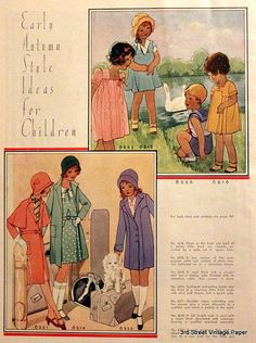 McCall patterns in 1930