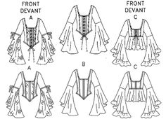 Risultati immagini per italian renaissance dress pattern Renaissance Costume, Medieval Costume, Renaissance Clothing, Italian Renaissance, Dress Drawing, Drawing Clothes, Vintage Sewing Patterns, Clothing Patterns, Moda Medieval