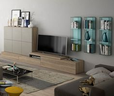 Salon - Living room Catálogo Cubika 2015 www.exojo.com #salones #living room