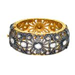 http://www.gemcodesigns.com/antique-rose-cut-diamond-jewelry/bangle.html Antique Rose Cut Diamond Bangle