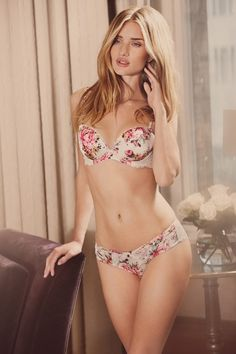 Rosie Huntington-Whiteley's high-summer lingerie line for Marks & Spencer