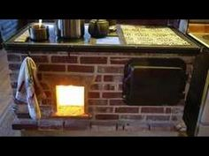 Here& a long rambling one introducing the Walker Cookstove. I loosely cover the construction basics, theory, and show the lighting and chimney at start up. Bushcraft Equipment, Rocket Mass Heater, To Build A Fire, Wood Stove Cooking, Brick And Wood, Stove Oven, Rocket Stoves, Hearth And Home, Building Plans