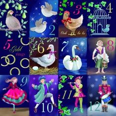 Shop - Xmas Cards - On the 12th Day of Christmas