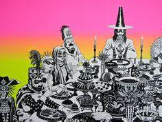 Black Feast IV by Will Sweeney