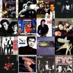 The Greatest Songs of The 80s with iTunes clips for each song - 1980s New Wave, 80s Pop, 80s Rock, and 80s Dance Music