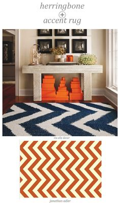 Suddenly I'm all about chevrons. I think Mary McDonald confounded me.